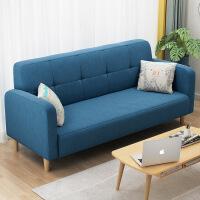 【限时直降3折】单人小沙发网红款客厅户型阳台卧室懒人单人床经济型北欧沙发布艺