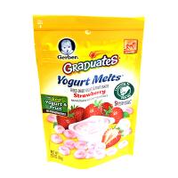 嘉宝(Gerber) 美国嘉宝草莓水果口味酸奶溶豆零食辅食(8个月以上)28g/袋 (海外购)