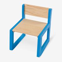 【当当自营】好事达 博学实木宝宝椅 环保无毒小椅子 写字画画椅 蓝色乐橙3642