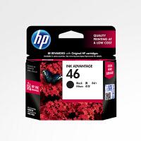 惠普/HP 原装46黑色墨盒 CZ637AA HP2520hc HP2020hc