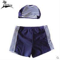 新款游泳裤 亲子游泳衣小男孩泳裤可爱儿童泳衣男童泳装平角可礼品卡支付