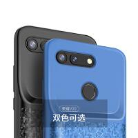 华为背夹充电宝honor/荣耀 V20专用电池便携超薄手机壳式无线移动电源背夹PCT-AL10大容量 荣耀V20 格致