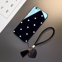 钢化玻璃苹果6s手机壳女款硅胶全包6plus外壳iphone6splus手机套