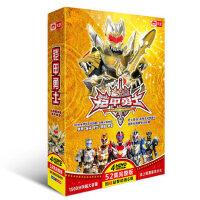 铠甲勇士4DVD光盘52集送6碟卡通片正版科幻蒙面超人动画片碟片