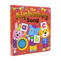 The Alphabet Song 字母歌 幼儿英语启蒙认知纸板书 儿童英语发声书 英文原版进口图书
