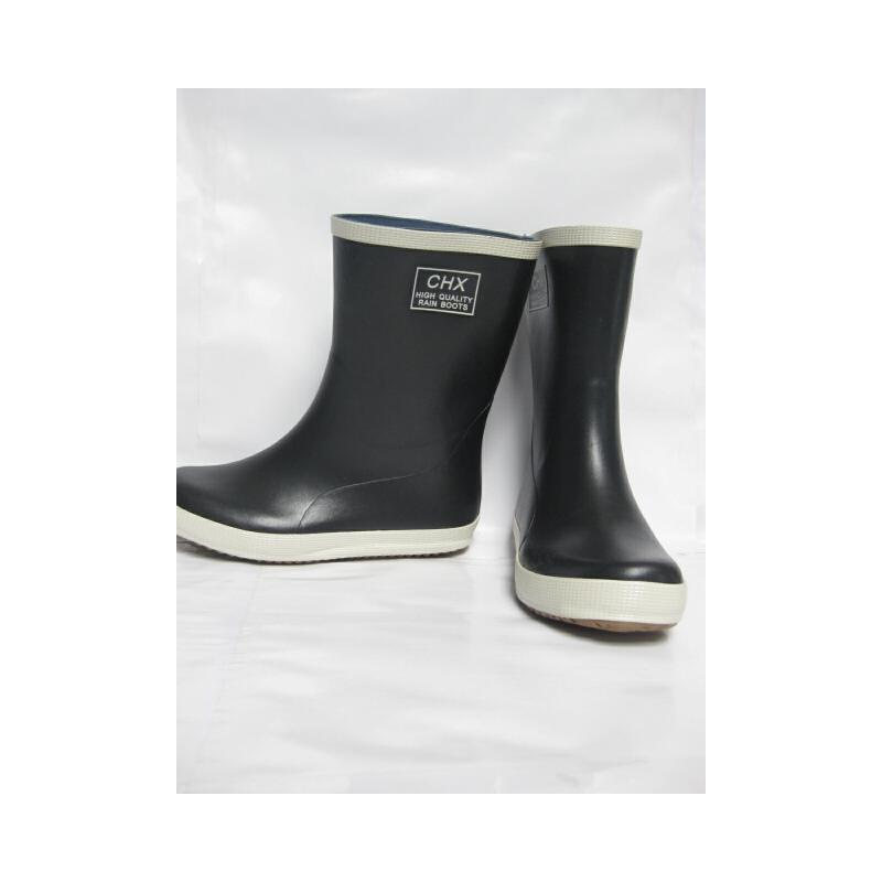 春夏休闲款钓鱼鞋橡胶情侣男女同款中筒平底雨鞋男高尔夫雨靴水鞋