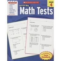 Scholastic Success with Math Tests Grade 4 学乐成功系列 必赢数学测试题 考试