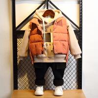 男童冬装冬季童装孩儿童秋冬三件套