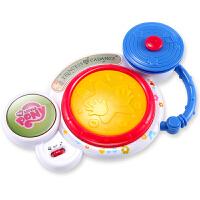 美高乐 小马宝莉迷你婴儿玩具电动手拍鼓宝宝拍拍鼓组合鼓新生儿早教益智玩具MG368