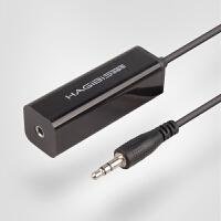 音频隔离器共地抗干扰信号噪音滤波器电脑音响电流声消除器屏蔽去噪声变压降噪
