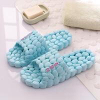居家用室内漏水洗澡浴室拖鞋夏季居家凉拖鞋情侣男女款凉拖鞋