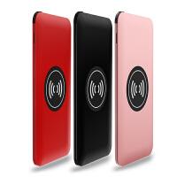 充电宝迷你20000M手机苹果8X通用毫安oppo可爱萌vivo华为便携充移动电源6小巧7自带线头大
