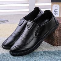 皮鞋男鞋秋冬透气男士休闲鞋男韩版潮流男士商务皮鞋