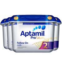 【2段白金】英国直邮 Aptamil爱他美 英爱白金 2段 二段婴幼儿奶粉  800g*4  海外购
