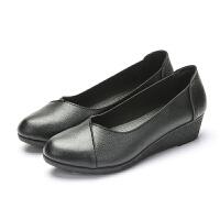 春季妈妈鞋单鞋中年女鞋妈妈鞋软底休闲鞋女工作鞋