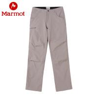 Marmot/土拨鼠春夏运动户外弹力透气男士速干裤薄款