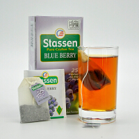 司迪生 蓝莓风味红茶1.5g*25茶包/盒 斯里兰卡锡兰红茶袋泡茶