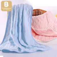 【两件包邮】卡伴婴儿毯子新生儿纯棉四季通用小被子儿童宝宝毛毯春秋盖幼儿园盖被