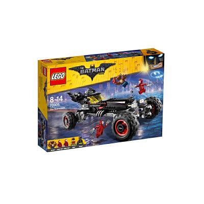 美国直邮 LEGO乐高 蝙蝠侠电影系列蝙蝠战车益智拼插积木玩具70905 海外购