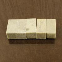 文房四宝金石篆刻印章石头2.5*5cm青田石5枚练习石章印石章料