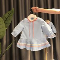 冬装女小童洋气裙子婴儿女宝宝连衣裙女童公主裙