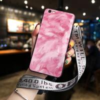 iPhone7手机壳苹果8plus玻璃X个性创意XR网红女款6plus复古XSMAX潮XS简约小清新