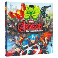 【中商原版】漫威复仇者联盟绘本故事书合集 新版 第二版 英文原版 Avengers Storybook Collect