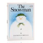 英文原版绘本The Sonwman 雪人Raymond Briggs雷蒙德布里格斯 儿童启蒙图画平装书