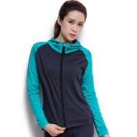 跑步运动外套瑜伽服健身上装百搭上衣时尚修身显瘦高弹
