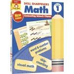 Evan-Moor Skill Sharpeners Math Grade 1 小学一年级数学练习册 美国加州教辅 技