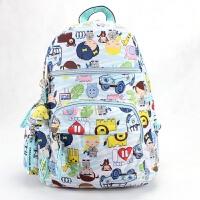 2018新款【原宿娃娃】双肩背包学生书包旅行防水布包多花色可爱男女小背包