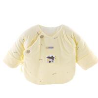 婴儿秋冬半背衣纯棉初生宝宝防尿湿新生儿舒适透气上衣服