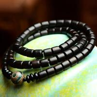 凝。手工原创 复古手链女民族风木手串混搭饰品简约个性