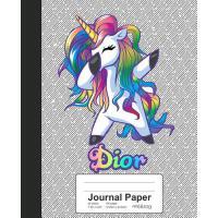 【预订】Journal Paper: DIOR Unicorn Rainbow Notebook