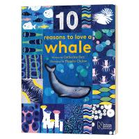 10个我喜欢你的理由 巨大的鲸 10 Reasons to Love a Whale 英文原版