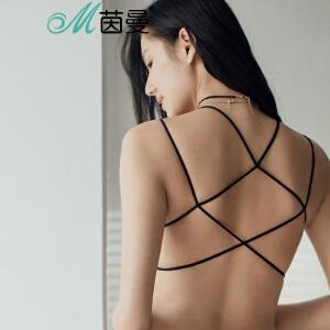 包邮 茵曼内衣 舒适透气裹胸抹胸美背性感打底防走光文胸 9871430119