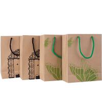 广博(GuangBo)4只装中号牛皮纸礼品袋礼物袋纸质手提袋QT5894当当自营