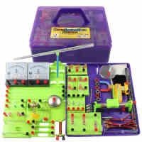 初中物理电路实验器材 九年级电学实验箱 八年级电磁学实验盒全套