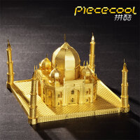 3D金属拼装模型 立体拼图 手工DIY拼装 建筑模型世界奇迹 泰姬陵