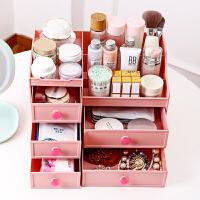 梳妆台抽屉式护肤刷筒口红面膜整理置物架桌面收纳架