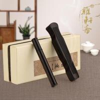 黑檀实木质卧香炉檀香炉线香炉线香盒小号套装红木古琴香盒