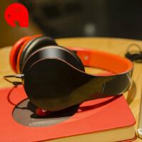 手机耳机 头戴式电脑耳麦有线吃鸡带话筒游戏音乐通用 标配