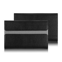GPDpocket2代内胆包包7英寸口袋笔记本电脑保护皮套轻薄便携win10触屏掌上笔记本电脑包头 黑色【头层 牛皮】