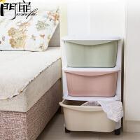 门扉 储物柜 创意韩版特大号抽屉式塑料多用途儿童收纳柜家居日用多功能大容量整理杂物箱
