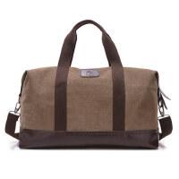 潮帆布包男包时尚手提包单肩包斜挎包休闲出差旅行大包包