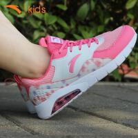 安踏女童休闲鞋子2017秋季儿童运动鞋宝宝跑步鞋学生单鞋32738802