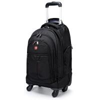 SWISSGEAR瑞士军刀双肩拉杆包 男女旅行拉杆背包 多功能拉杆箱包行李包