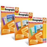 Evan-Moor Skill Sharpeners Geography Grade G1-3 3册 美国加州儿童教辅