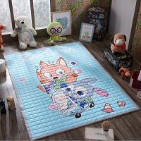 全棉宝宝爬行垫加厚儿童折叠婴儿地垫纯棉客厅地毯爬爬垫