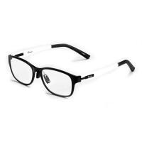 卡朗尼塑钢 老花镜 时尚休闲款式 超轻 防疲劳老视眼镜 远视眼镜 白色镜腿6822